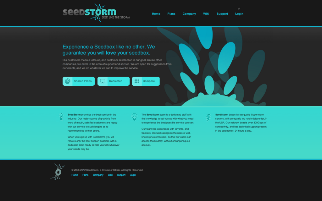 Screenshot of  Dedicated Seedbox 3