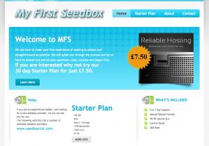 Screenshot of  Starter Plan