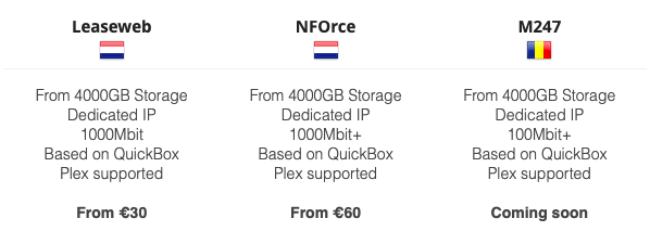 SeedboxIO dedicated servers